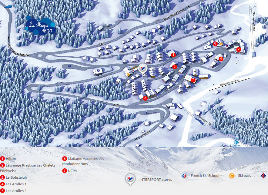 INTERSPORT SHOP PLAGNE 1800 Ski Rental